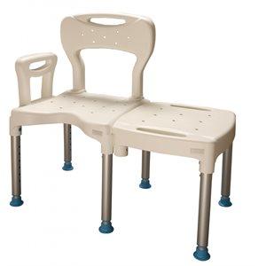 banc de bain et douche modulaire transfert. Black Bedroom Furniture Sets. Home Design Ideas